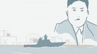 Forsvarsministeriet har ikke levet op til sine internationale forpligtelser om samfundsansvar i forbindelse med byggeriet af et skib, hvor der med al sandsynlighed er blevet anvendt nordkoreanske tvangsarbejdere. Det konkluderer vagthunden MKI i ny udtalelse