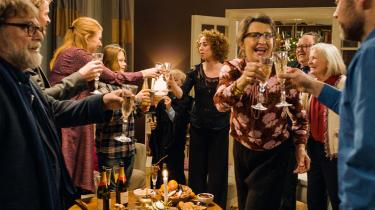 Paprika Steens sorthumoristiske julefilm 'Den tid på året' fortæller en på én gang meget dansk og universel historie om de roller, vi spiller i vores familier, ikke mindst juleaften. Foto: TIFF/Nordisk Film