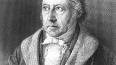 Georg Wilhelm Friedrich Hegel (1770-1831).