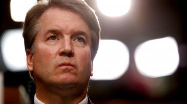 Højesteretskandidat Brett Kavanaugh, der er præsident Trumps favorit til posten, men som samtidig er beskyldt for voldtægt.