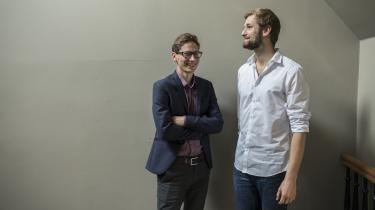 Magnus Skovrind Pedersen er sammen med Andreas Pinstrup Jørgensen i gang med at kortlægge, hvor meget de erhvervsdemokratiske selskaber fylder i dansk økonomi