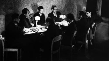 Forfatter Hans Sahl var med i gruppen Emergency Rescue committee, der ses her, som hjalp med at redde over 1.000 kunstnere og videnskabsfolk fra nazisterne. Og han er en af de relativt ukendte forfattere, som Enzensberger portrætterer.