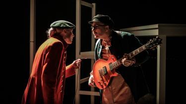 Ulle Bengtsson ligner forbløffende meget den Tom Kristensen, han personificerer i den musikalske forestilling 'Tom'.