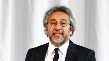 Can Dündar, tyrkisk journalist og tidligere chefredaktør for den tyrkiske avis Cumhuriyet
