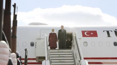 Det tyrkiske præsidentbesøg i Berlin skal nok blive et slagkraftigt arrangement for Erdogans klientel i Tyskland, siger ekspert.