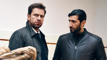 Nikolaj Lie Kaas er udmærket i rollen som den kyniske kriminalkommissær Carl Mørck afdeling Q-filmene, men samspillet mellem ham og Fares Fares' Assad klikker ikke i Christoffer Boes 'Journal 64'.