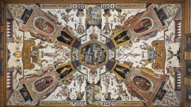 Antonio Temoesta, grotesker fra loftet i Uffizi-galleriet i Firenze, 1579-81.