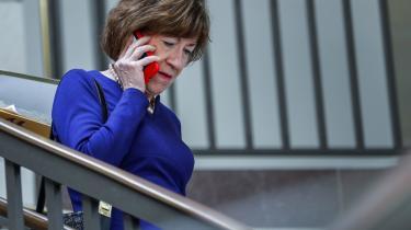 Susan Collins, den ene af de to republikanske svingstemmer, ytrede torsdagtilfredshed med en FBI-undersøgelse, der kan godkendeBrett Kavanaugh som kommende højesteretsdommer.