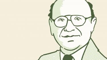 Grundlæggeren af Chicago-skolen skubbede Keynes' lære ud på sidelinjen og gav Reagan og Thatcher fundamentet for økonomiens liberalisering