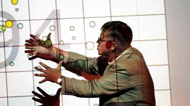 Hans Rosling, der fremviser sine teorier om global befolkningstilvæksti TED Talks