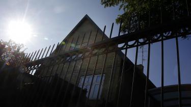 Den villa i Hvidovre, hvor Britta Nielsen, der svindledeSocialstyrelsen for 111 millioner kroner, boede.