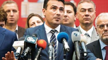 Selv om kun en tredjedel mødte op til folkeafstemningen, erklærede premierminister Zoran Zaev allerede på valgaftenen, at der var et enormt flertal for at skifte navn til Republikken Nordmakedonien.