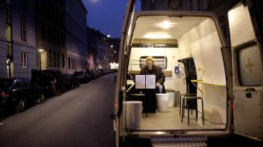 Fixerumsambulancen er et af de initiativer på Vesterbro, der har skabt bedre vilkår for stofmisbruger.
