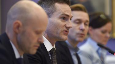 Tirsdag var erhvervsminister Rasmus Jarlov (K) kaldt i samråd om hvidvaskskandalen i Danske Bank.