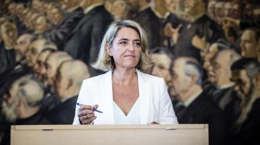 En hel række af alternativister, deriblandt Pernille Schnoor,ønsker ikke at genopstille ved næste valg.