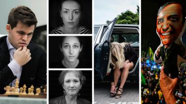 Brasilianerne valgte en homofobisk torturtilhænger som præsident. Amerikanske kvinder kan blive afgørende for midtvejsvalget. Rune Lykkeberg har optur over skak. Og debatredaktøren anmelder en lidt for venlig bog om Pernille Vermund