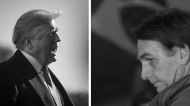 Den type mandlighed, som Trump, Putin og Bolsonaro repræsenterer, er frastødende og pinagtig. Men den er ogsåfarlig, for det er dem, der sidder på magten, så længe tilstrækkelig mange mænd beundrer dem