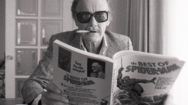 Stan Lee fotograferet i 1987.