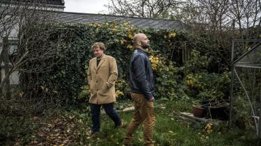 Niels Jespersen og Mikkel Andersson er aktuel med ny bog om indvandringen til Danmark. De to satirikere og debattører mener, at tiden er inde til et opgør med konventionerne.