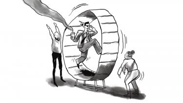 Finanskrise og bankskandaler med hvidvask og skattesvindel skyldes ikke bare en finanselite og et sygt system. Den almindelige borger lever for lånte penge og finansiel tænkning gennemsyrer samfundet. Den kultur gør det ekstremt svært at lave radikale forandringer af finanssektoren, siger professor og historiker Per H. Hansen