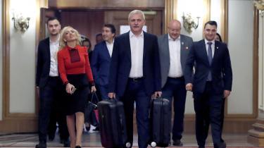 Kritikken mod den siddende regering retter sig ikke mindst mod Liviu Dragnea, der er formand for regeringspartiet PSD og den styrende hånd bag den rumænske regering.