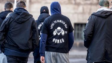 Loyal to Familia-bandemedlemmer foran Københavns Byret.