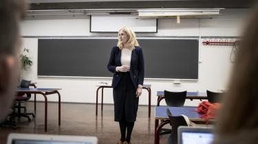 Christina Tornquist har undervist som gymnasielærer i 11 år, men er for tiden deltidssygemeldt med stress på grund af en for stor arbejdsbyrde.