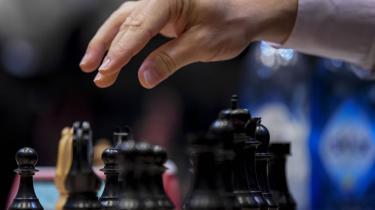 »Jeg endte i en stilling, hvor jeg vel nok stod bedre, men hvor det ikke var så let at komme videre,« sagde Magnus Carlsen efter 12. runde i London.