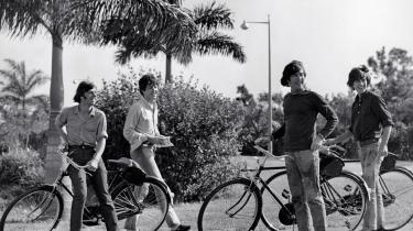 The Beatles under indspilningen af 'Help!' på Bahamas i 1965. Dengang tænkte man ikke så skidt om skattely.