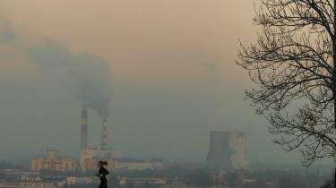 I storbyen Kraków, tæt ved COP24-værtsbyen Katowice, kan solen ikke trænge gennem smoggen.