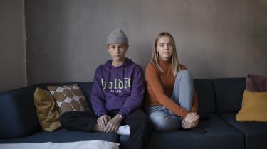 For de to 14-årige klassekammeraterTheodor Kundelov og Andrea Møller Svendsen er fysisk samvær med andre unge langt vigtigere end en chat.