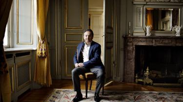 Den franske terrorforsker Gilles Kepel fotograferet påden franske ambassade i Danmark.