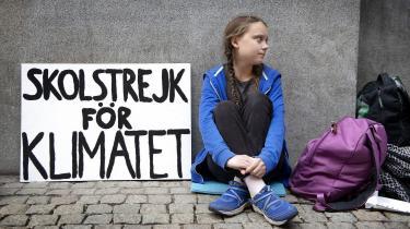 Klimaministeriet vil opretteet nationalt ungeklimaråd. David Rehling giver et bud på, hvilke unge Lars Chr. Lilleholt kunne kontakte i den forbindelse. Et forslager den 15-årige, svenske klimaaktivistGreta Thunberg.