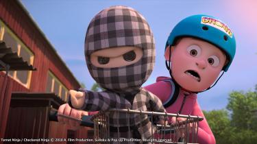 Animationsfilmen 'Ternet Ninja' er baseret på Anders Matthesens børneroman af samme navn.