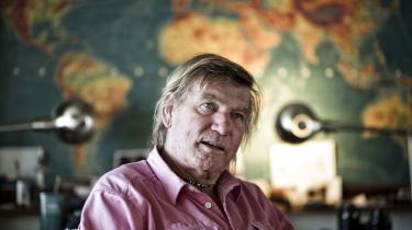 Troels Kløvedal blev 75 år.