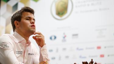 Magnus Carlsen vandt mellem jul og nytår lynskakken med en score på imponerende 17 point af 21 mulige.
