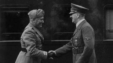 Ny bog om Hitler og Mussolinis selvvalgte indbyrdes skæbnefællesskab