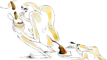 Litteratur skal læses med en aggressiv indstilling. Faktisk skal kunst i metaforisk forstand myrdes, kokkereres, ædes og derpå skides ud som lort, der pænt anrettet, serveres som ens eget kunstværk, skriver forfatter Peter Adolphsen i sit essay