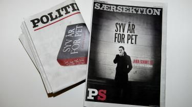 Hvis vi vil forsvare pressens mulighed for i særlige tilfælde, som kræver særlige begrundelser, at bryde regler og love, må vi også erkende, at det ikke var tilfældet, da Politiken på trods af fogedforbud ikke kunne vente med at udgive 'Syv år for PET'