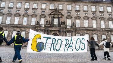 De unge tror på, at tingene kan laves om, og at de kræfter og interesser, der forsvarer dagens klimaødelæggende, ulighedsforstærkende økonomiske orden, kan overvindes, skriverJørgen Steen Nielsen.