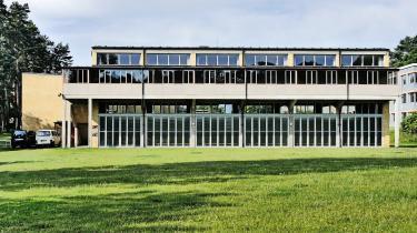 Bundesschule in Bernau står i dag på UNESCOs Verdensarvsliste.