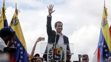 Juan Guaidó blev udpaget af Leopoldo López til at stå i spidsen for det socialdemokratiske parti, 'Voluntad Popular' ('Folkeviljen') og dets koalition i den venezuelanske folkeforsamling.