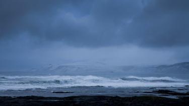 Herdísarvík på sydkysten. Her tilbragte Einar Benediktssonsine sidste år i en hytte med udsigt til Atlanterhavet.