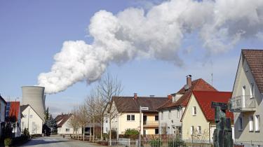 Atomkraftværket i Gundremmingen i Tyskland.