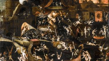 Illustration: Hieronymus Bosch -The Harrowing of Hell