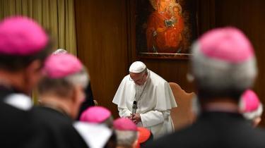 'Lyt til de små børns råb om hjælp', siger pave Frans til sine egne biskopper om kirkens sexmisbrugte børn. Men stærke kræfter spærrer for katolsk reformation