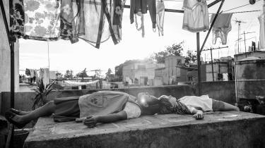 'Roma' er favorit til at vinde en Oscar i kategorien 'Bedste Film'.