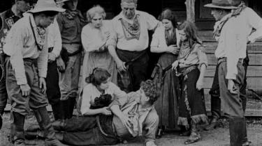 Alice Guy-Blaché instruerede filmen 'Two Little Rangers' fra 1912.