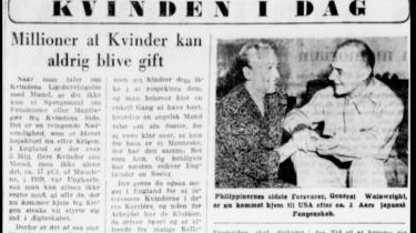 Fra Information oktober 1945.