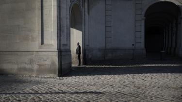 Liberal Alliances klimaordfører Carsten Bach fotograferet ved Christiansborg.